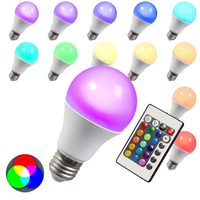 LED-žiarovka-RGB-E27-3W