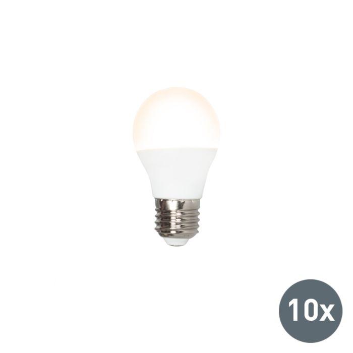 Sada-10-LED-žiarovky-P45-E27-5W-3000K
