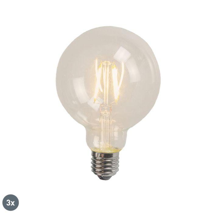 Sada-3-žiaroviek-E27-LED-G95-4W-320-lm-2700K