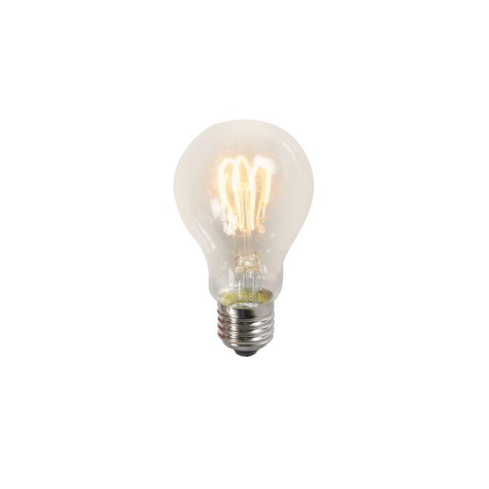 LED-žiarovka-s-krúteným-vláknom-A60-3W-2200K-číra