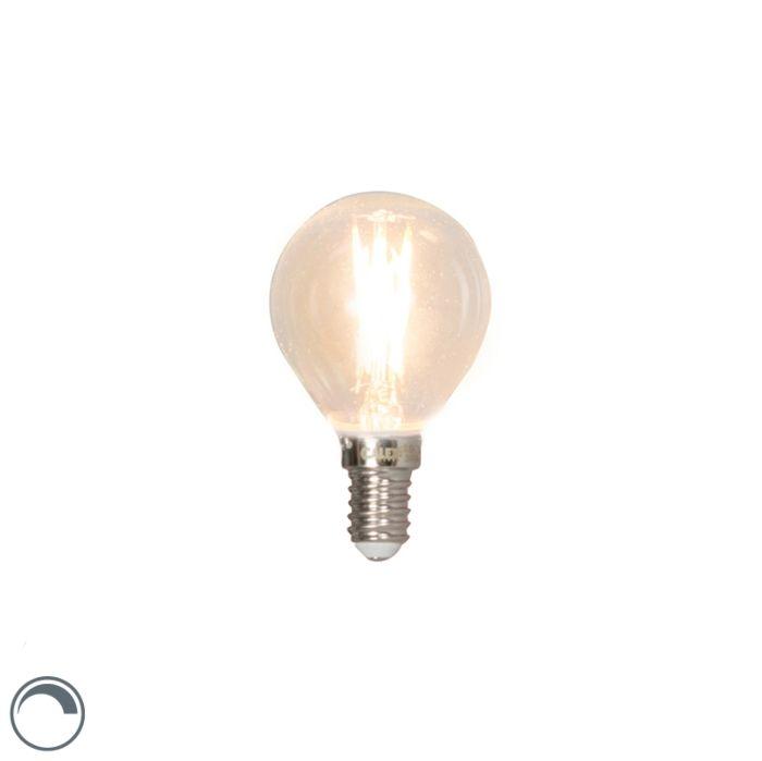 E14-stmievateľná-LED-žiarovka-s-guľovým-vláknom-3W-350lm-2700K