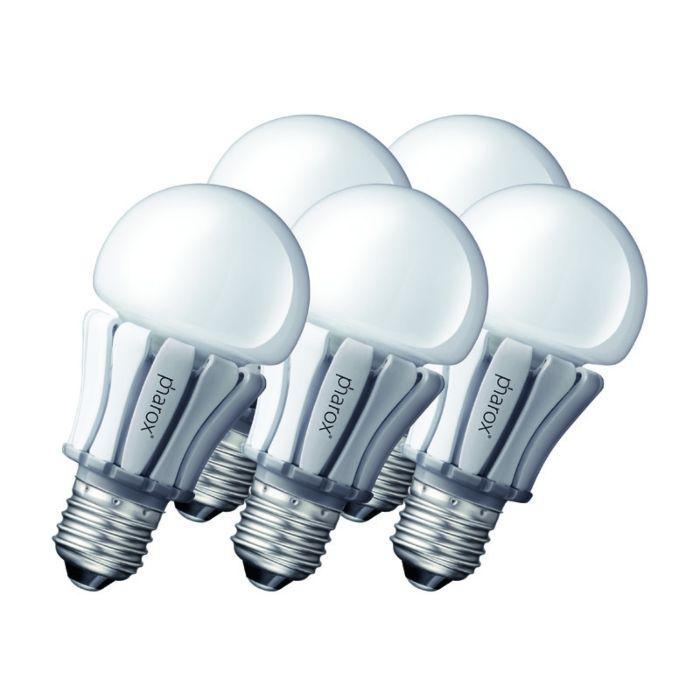 Sada-5-LED-žiarovky-Pharox-400-E27-8W-230V