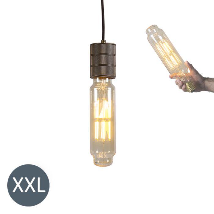 Závesné-svietidlo-Tower-bronzové-so-stmievateľnou-LED-žiarovkou