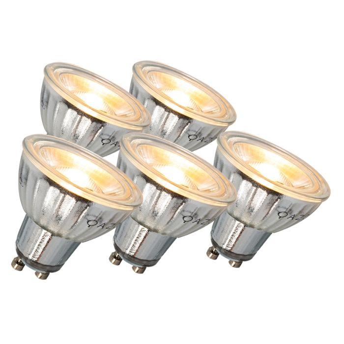 LED-žiarovka-GU10-7W-500LM-3000K-stmievateľná-sada-5