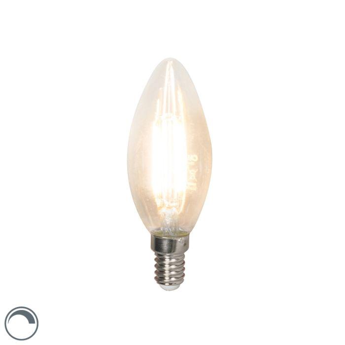 LED-žiarovka-s-žiarovkami-E14-240V-3,5W-350lm-B35-stmievateľná