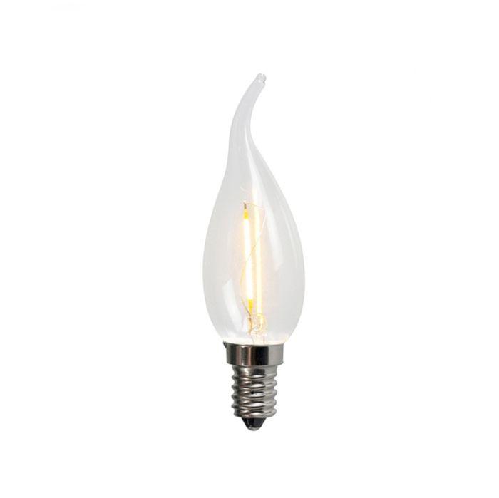 Sada-5-žiaroviek-E14-s-LED-žiarovkami-BXS35-1W-100LM-2200K