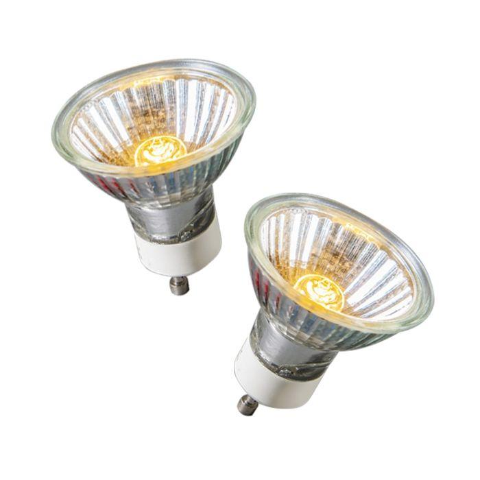 Sada-2-halogénových-žiaroviek-GU10-40-W