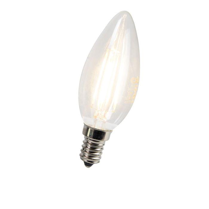 LED-žiarovka-s-žiarovkami-E14-3W-300-lúmenov
