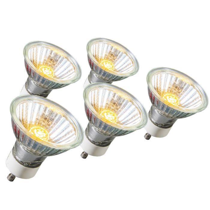 Halogénová-žiarovka-GU10-18W-95LM-230V-sada-5