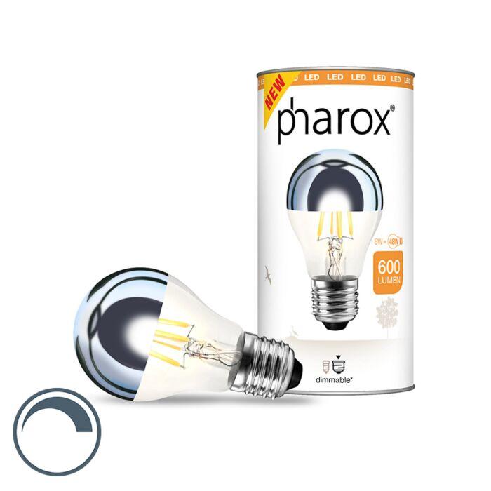 Zrkadlo-LED-žiarovky-Pharox-E27-6W-600-lúmenov