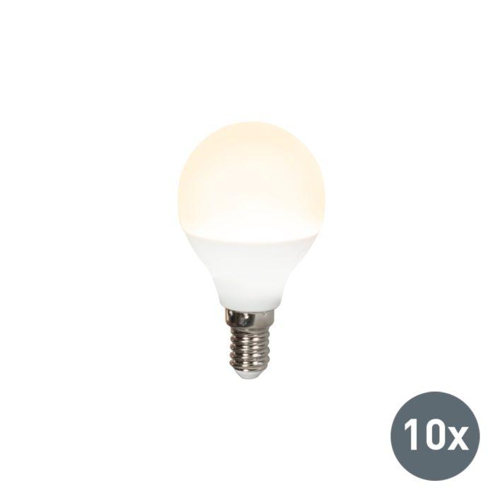 Sada-10-LED-žiarovky-P45-E14-3W-3000K