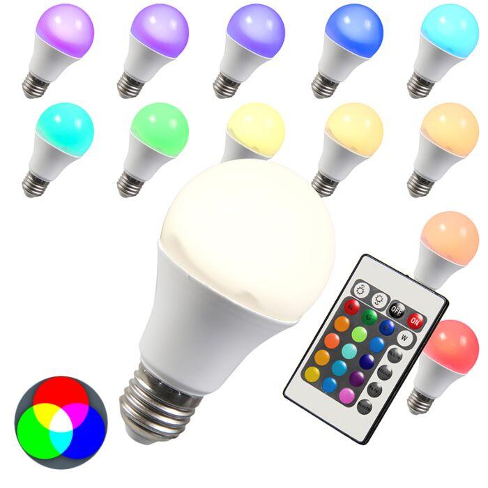LED-žiarovka-RGB-E27-10W-extra-teplá-biela