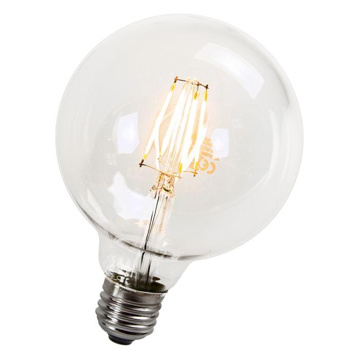 LED-žiarovka-s-žiarovkami-95-mm-E27-4W-470-lúmenov