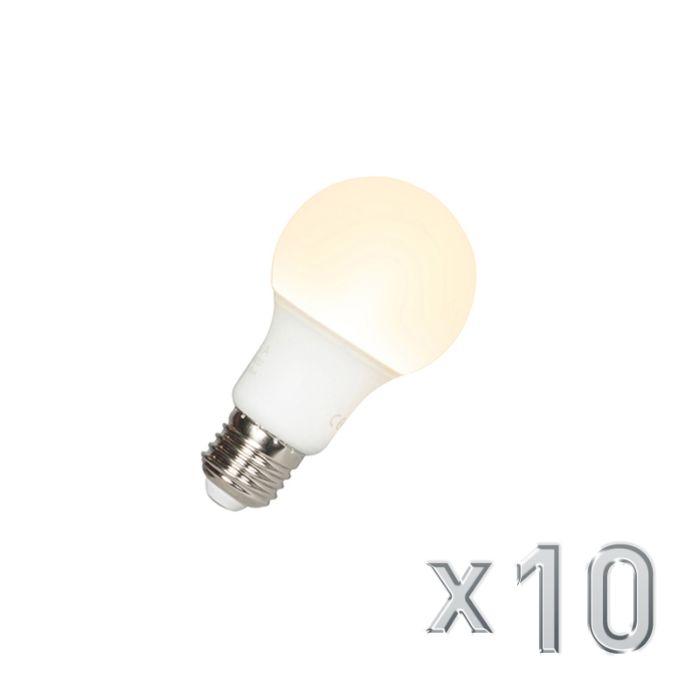 Sada-10-LED-žiarovky-A60-E27-9W-3000K