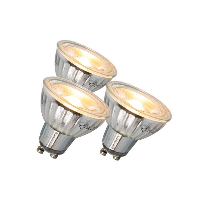 LED-žiarovka-GU10-7W-500LM-3000K-stmievateľná-sada-3