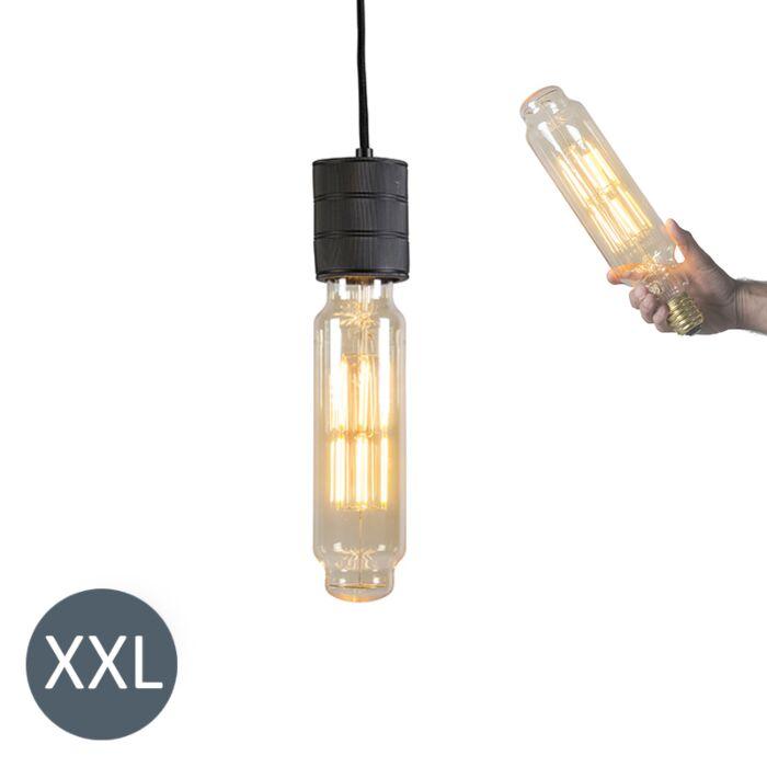Závesné-svietidlo-Tower-black-so-stmievateľnou-LED-žiarovkou