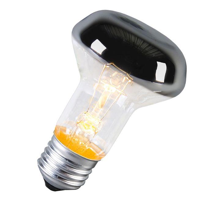 Žiarovka-E27-napoly-zrkadlo-60W
