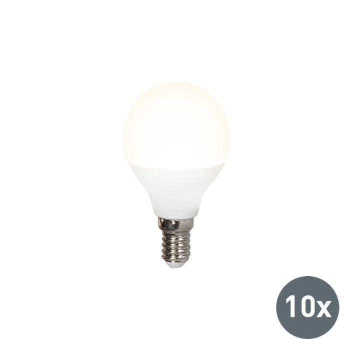 Sada-10-LED-žiarovky-P45-E14-5W-3000K