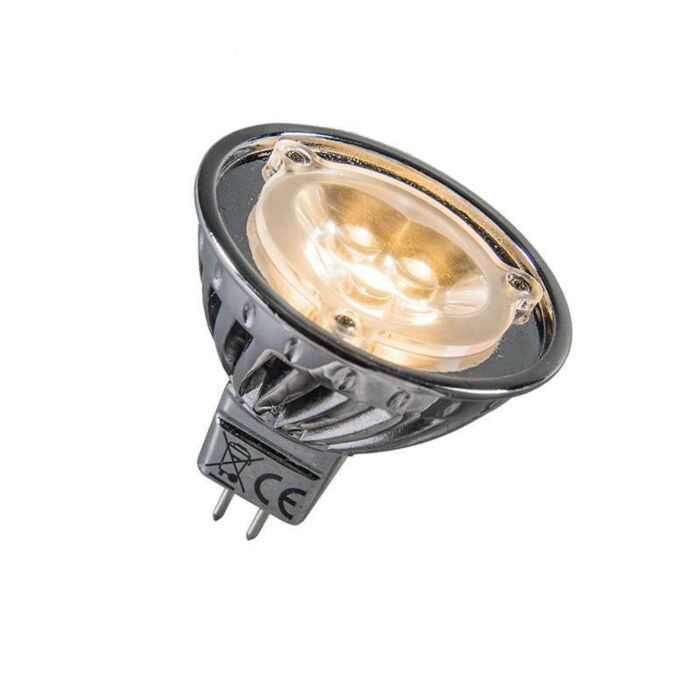 Výkonová-LED-12V-MR16-3-x-1W-=-cca-30W-teplá-biela