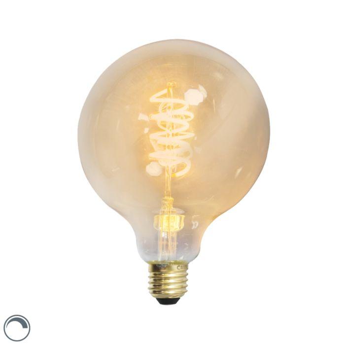 LED-žiarovka-s-krúteným-vláknom,-žiarovka-E27-240V-4W-200lm-stmievateľná