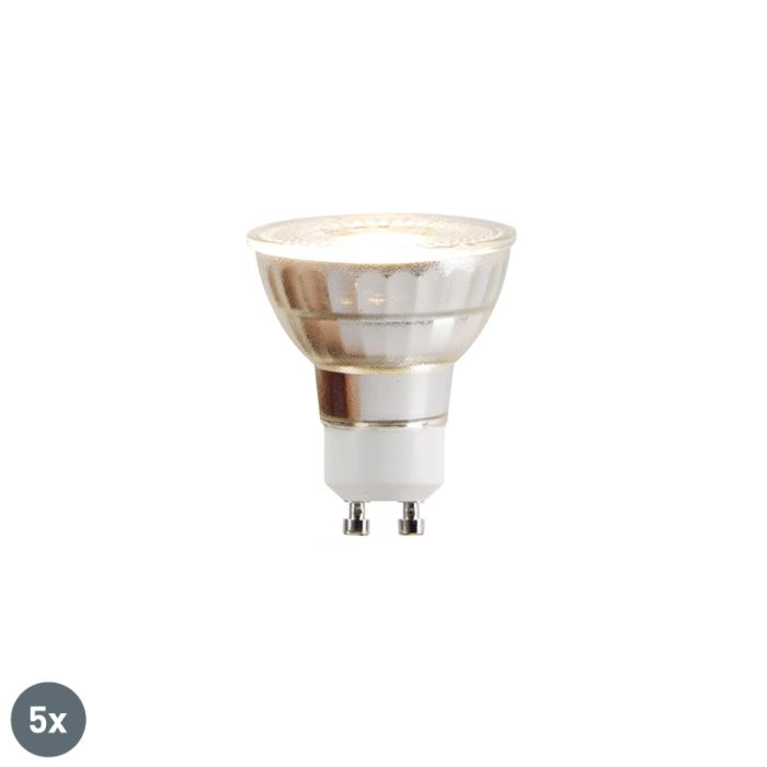 Sada-5-LED-žiaroviek-GU10-COB-5W-380lm-2700K