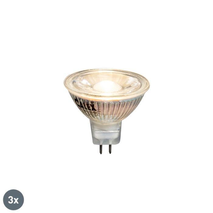 Sada-3-LED-žiarovky-3W-230-lúmenov