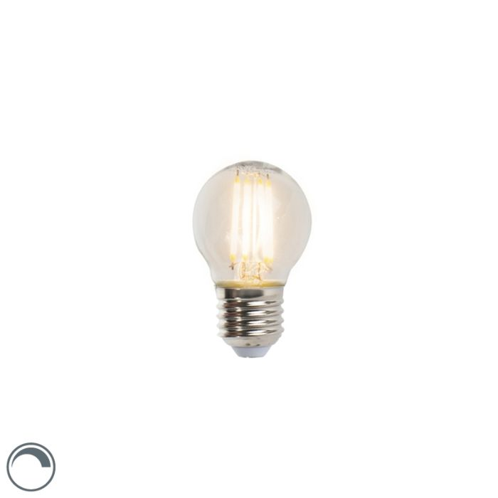 LED-žiarovka-s-žiarovkami-E27,-5W,-470lm,-P45,-stmievateľná