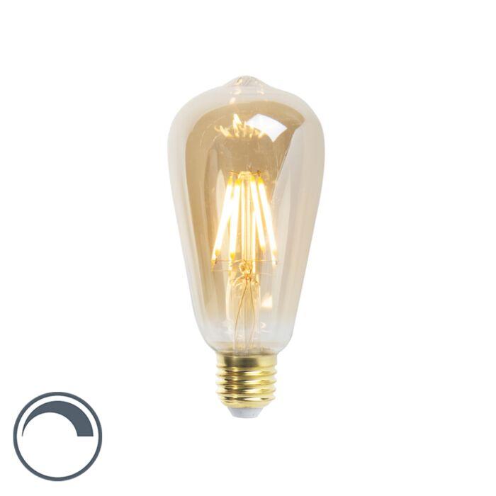 LED-žiarovka-ST64-E27-5W-360-lúmenov-2200K-stmievateľná