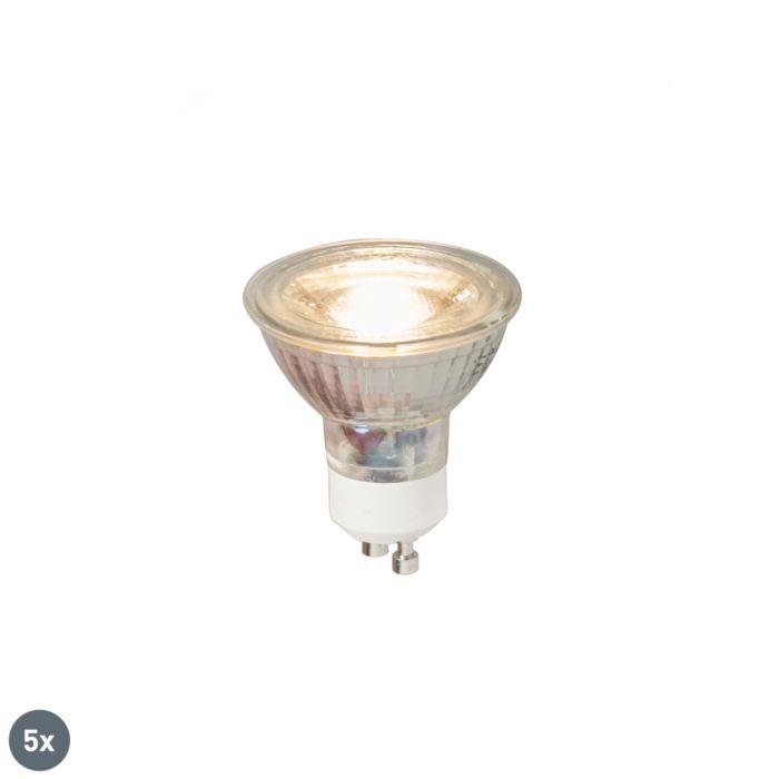 Sada-5-LED-žiaroviek-GU10-COB-5W-380LM-3000K