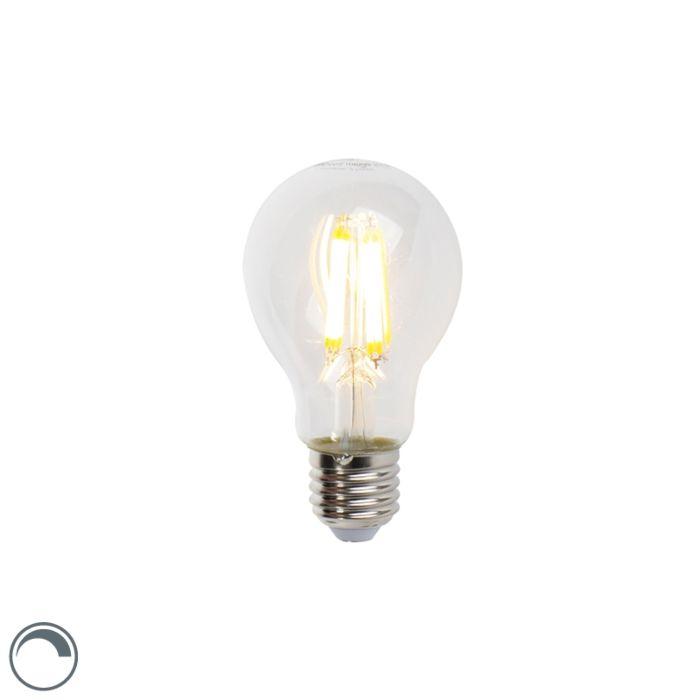 LED-žiarovka-E27-7W-806lm-A60-stmievateľná-číra