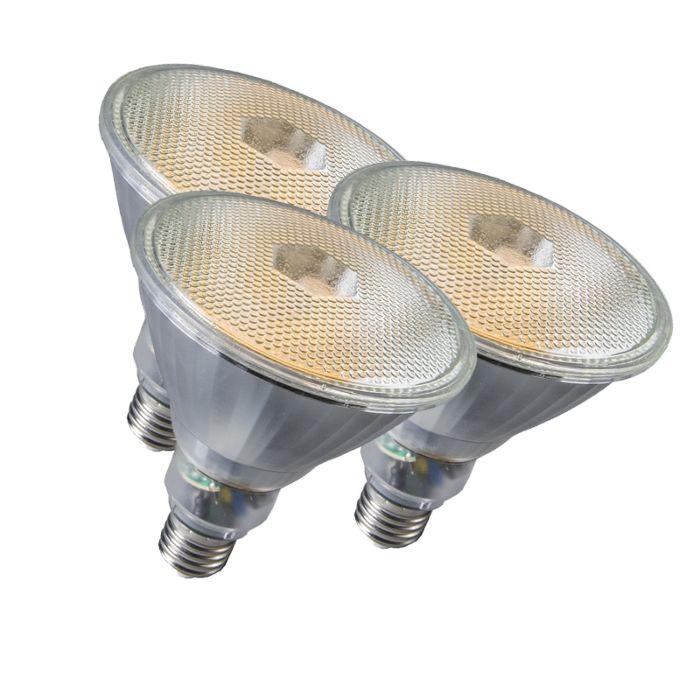 Sada-3-žiaroviek-Par38-E27-20W-800LM-2700K