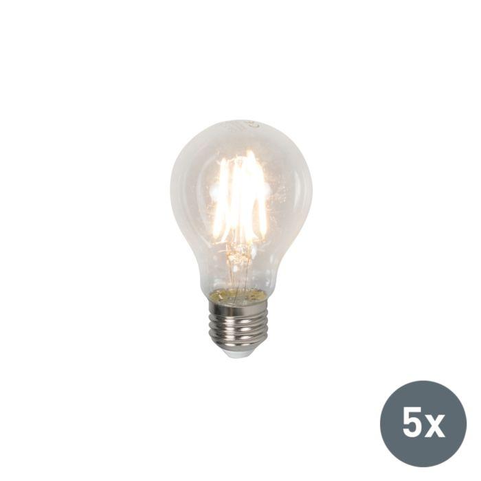 Sada-5-LED-žiaroviek-E27-4W-400-lúmen-teplá-biela