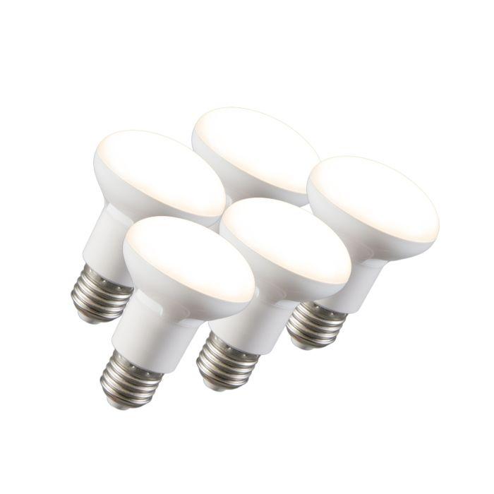Sada-5-LED-reflektorových-žiaroviek-R63-E27-240V-8W-2700K-stmievateľných