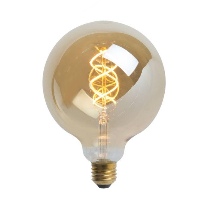 LED-žiarovka-E27-5W-300-lúmen-teplá-biela-2200K