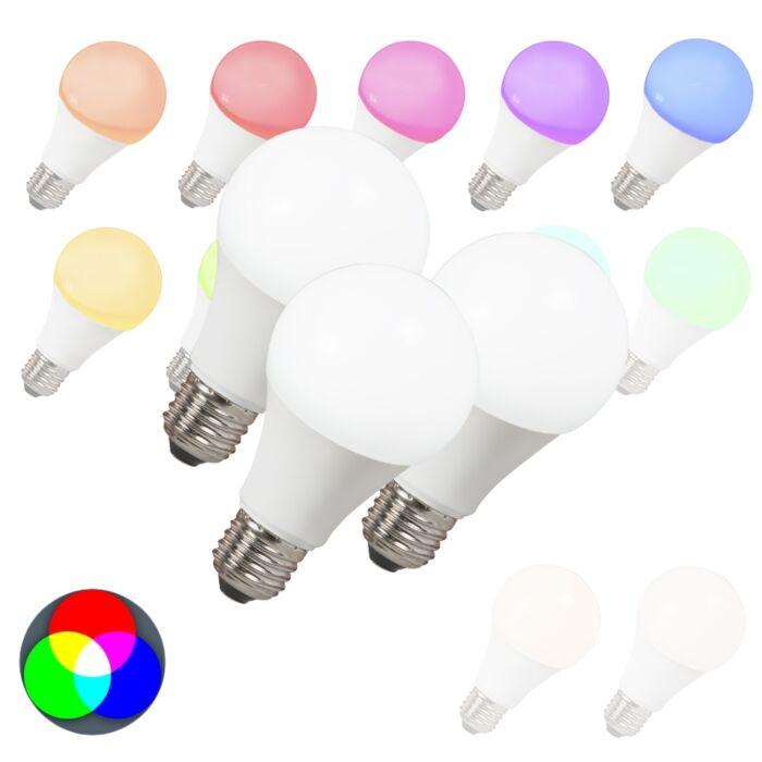 Sada-3-LED-žiaroviek-E27-240V-7W-500lm-A60-Smart-Light