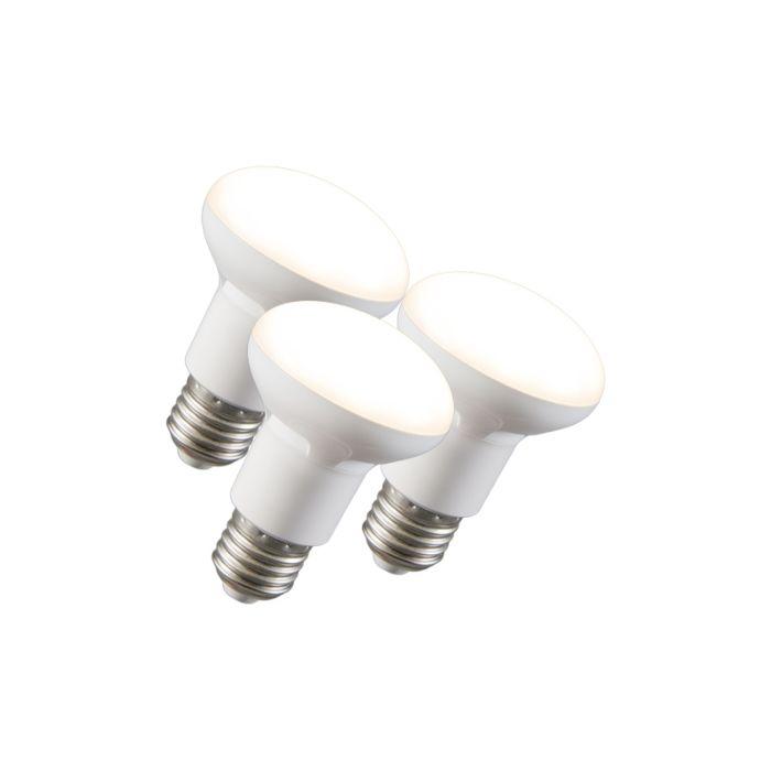 Sada-3-LED-reflektorových-žiaroviek-R63-E27-240V-8W-2700K-stmievateľných