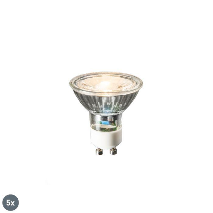 Sada-5-LED-žiaroviek-GU10-COB-3W-230lm-2700K