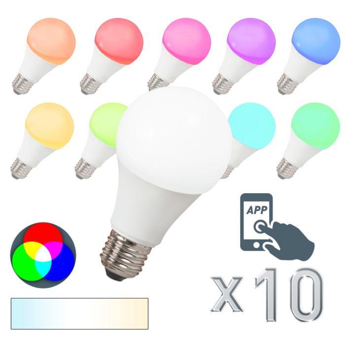 Sada-10-LED-žiarovky-E27-240V-7W-500lm-A60-Smart-Light