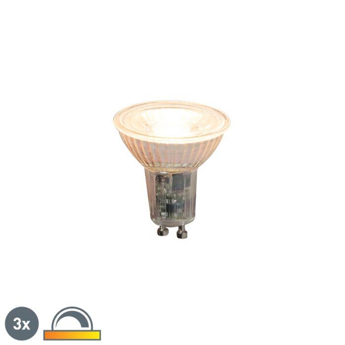 Sada-3-stmievateľných-LED-žiaroviek-GU10-5,5-W-360lm-2000K---2700K