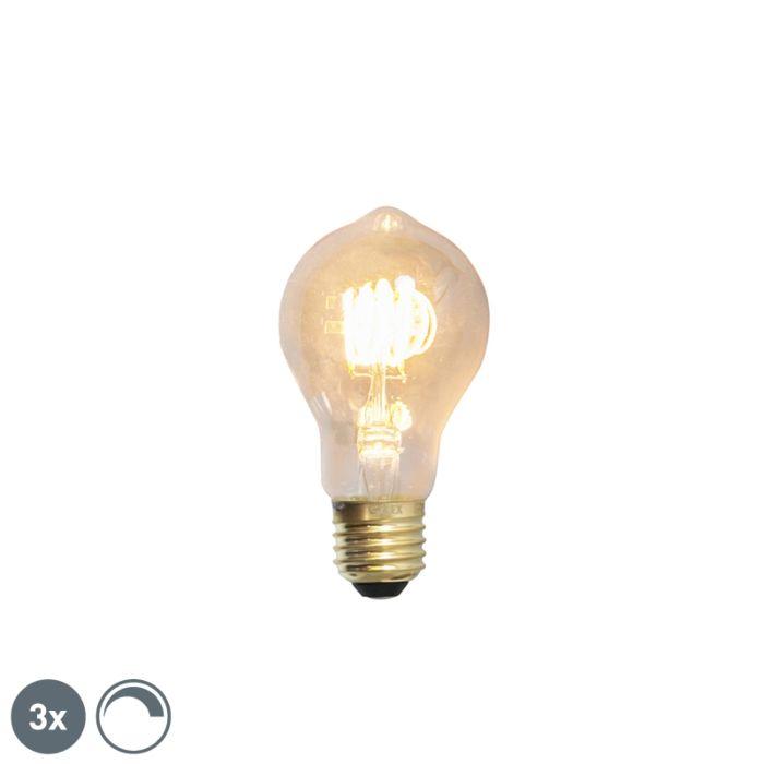 Sada-3-stmievateľných-žiaroviek-LED-žiarovky-E27-4W-200lm-2100-K.