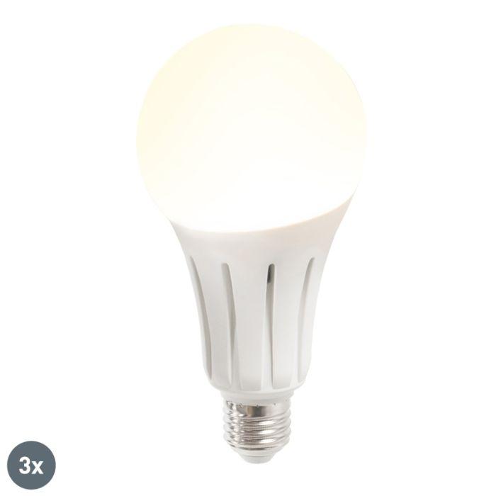 Sada-3-LED-žiarovky-B60-18W-E27-teplá-biela