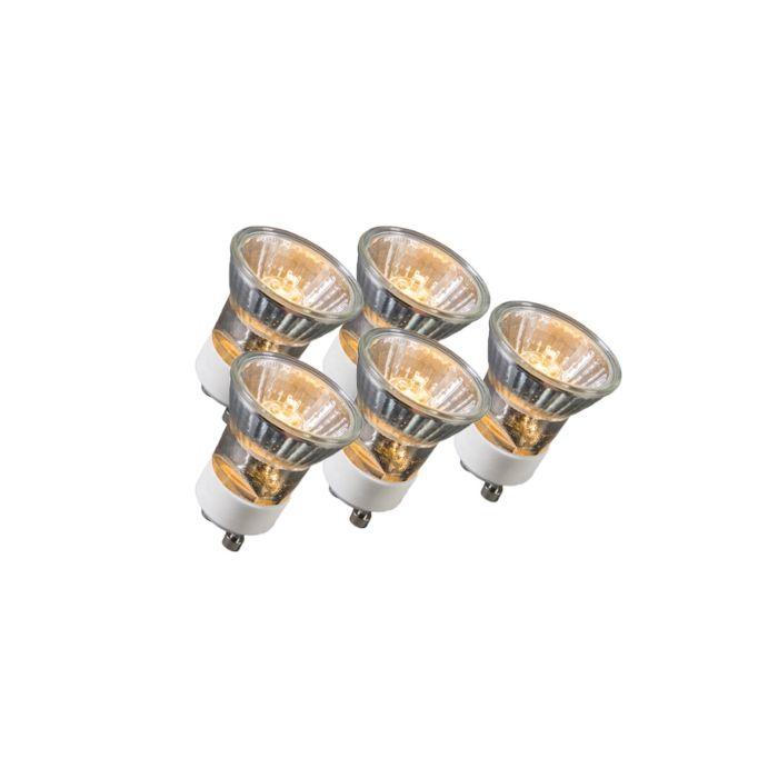 Sada-5-halogénových-žiaroviek-GU10-35W-230V-35mm