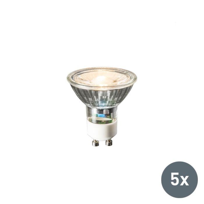 Sada-5-žiaroviek-GU10-LED-240V-3W-230lm-teplá-biela