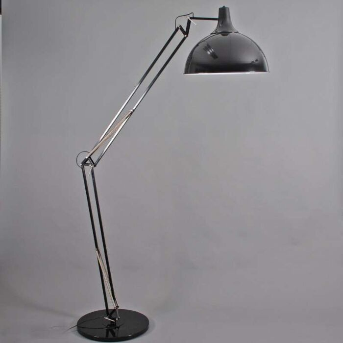 Oblúková-lampa-Hobby-XXL-čierna
