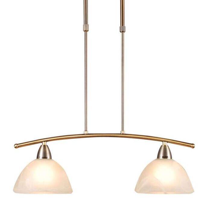 Závesná-lampa-Firenze-2-bronzová