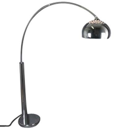 Oblúková-lampa-chróm-s-chrómovým-tienidlom
