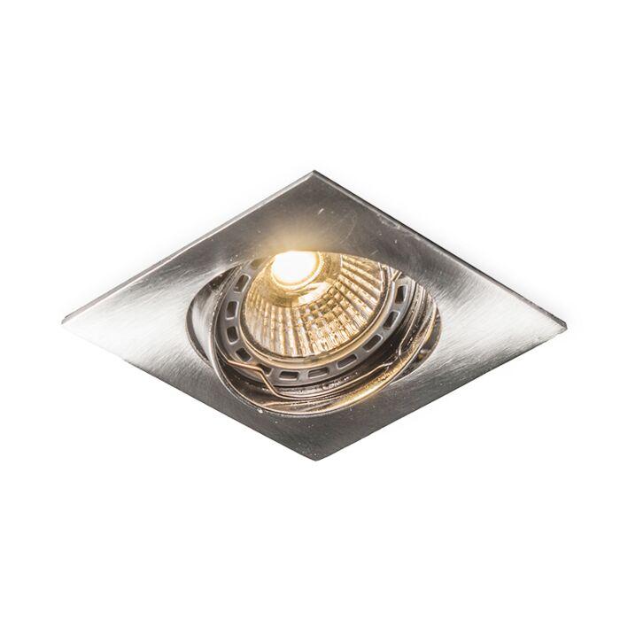 LED-zapustené-bodové-sklopné-štvorcové-oceľové-hrany-Edu