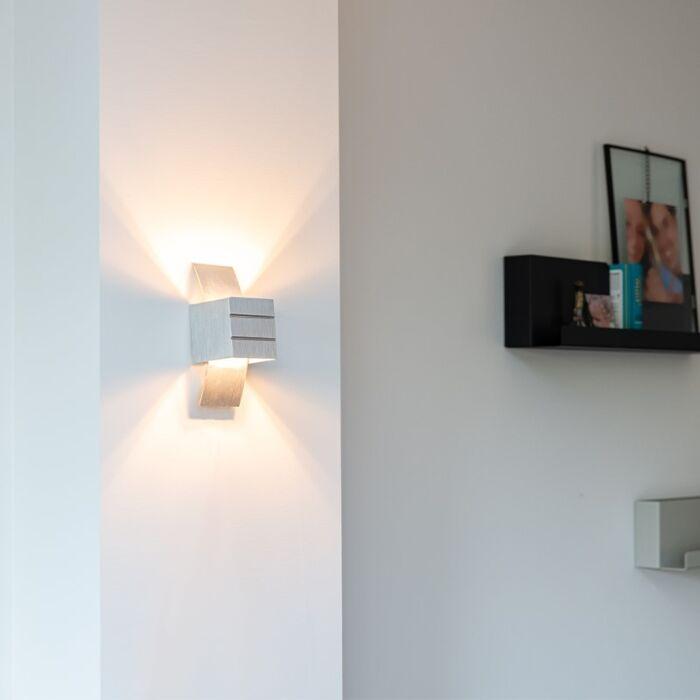 Moderné-nástenné-svietidlo-hliníkové---Amy