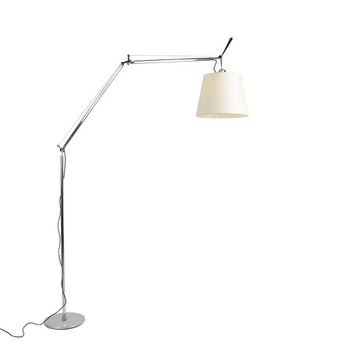 Podlahová-lampa-hliníková-285-cm---Artemide-Tolomeo-Mega-Terra