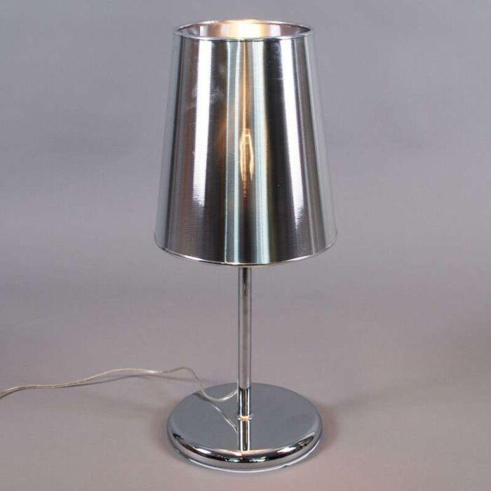 Stolová-lampa-Miracle-60-strieborná